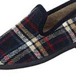 zapatillas de estar por casa cuadros y rayas